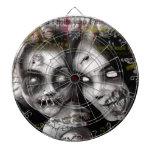 zombie girls dartboards