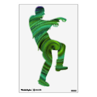 zombie going nowhere fast wall decals