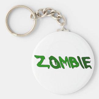 Zombie Goo Basic Round Button Keychain
