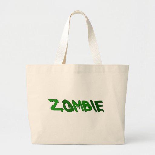 Zombie Goo Canvas Bags