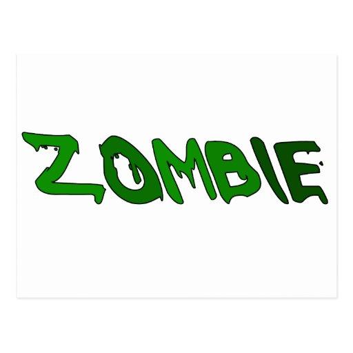 Zombie Goo Postcard