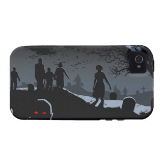 Zombie Graveyard iPhone 4/4S Vibe Vibe iPhone 4 Cases