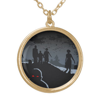 Zombie Graveyard Necklace