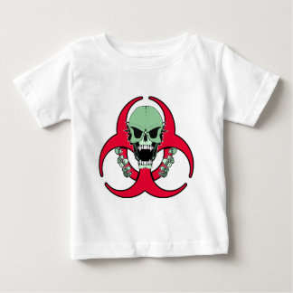 Zombie Green Finger Baby T-Shirt