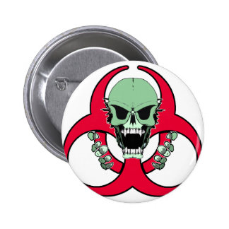 Zombie Green Finger Pin