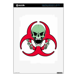 Zombie Green Finger Decal For iPad 3