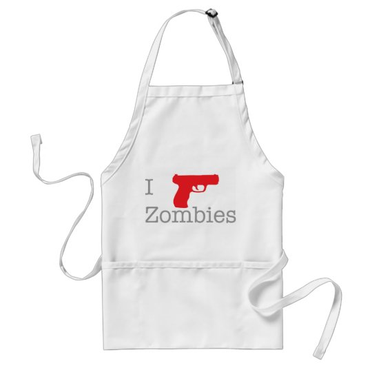Zombie Grill Master Adult Apron