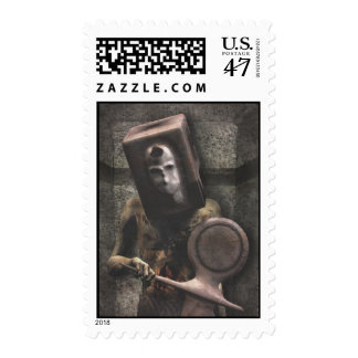 Zombie Guard - Halloween Stamps