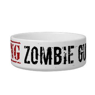Zombie Guinea Pig Bowl Cat Bowl