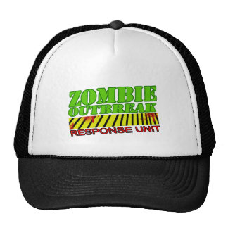 zombie guys girls undead zombies FUNNY ZOMBIE hat