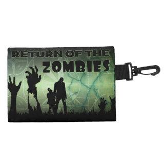 Zombie Halloween Apocalypse Tv Test Screen Art Accessories Bags