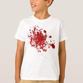 Zombie Halloween blood splatter scary bloody T-Shirt
