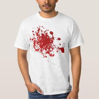 Zombie Halloween blood splatter scary shirt