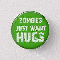 Zombie Halloween button