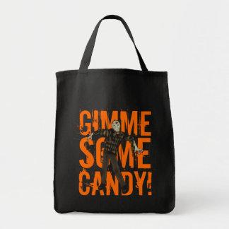 Zombie Halloween Candy Bag