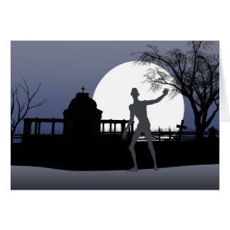 Zombie Halloween Card