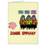 Zombie Halloween Cards