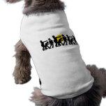 Zombie Halloween Doggie Tshirt