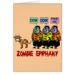 Zombie Halloween Greeting Cards