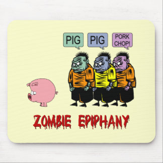 Zombie Halloween Mouse Pads