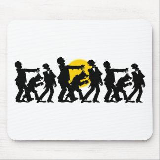 Zombie Halloween Mousepads
