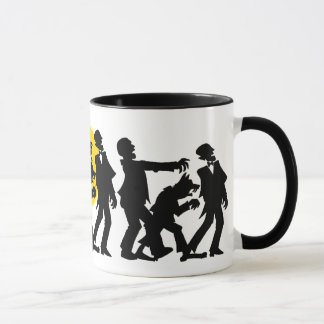Zombie Halloween Mug
