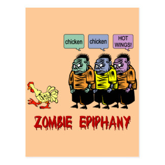 Zombie Halloween Post Cards