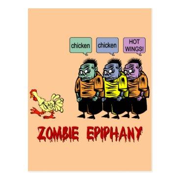 holidaysboutique Zombie Halloween Postcard