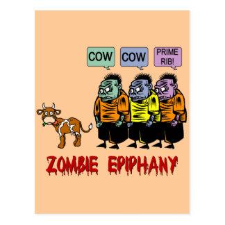 Zombie Halloween Postcard