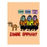 Zombie Halloween Postcards