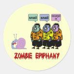 Zombie Halloween Stickers
