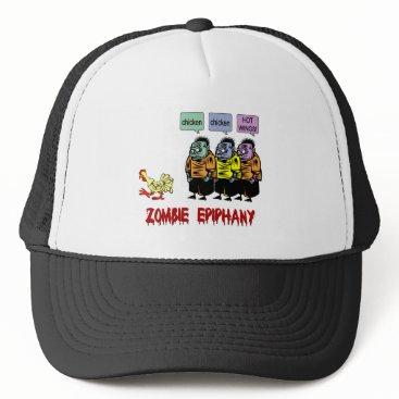 holidaysboutique Zombie Halloween Trucker Hat