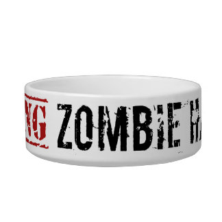 Zombie Hamster Bowl Cat Water Bowls