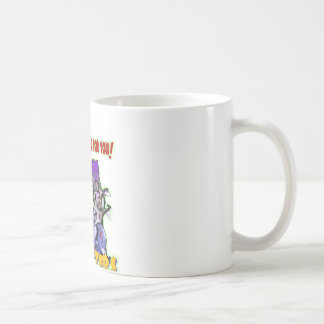 ZOMBIE HAMSTERS! COFFEE MUG