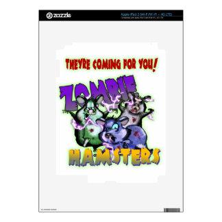 ZOMBIE HAMSTERS! iPad 3 SKINS