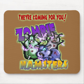 ZOMBIE HAMSTERS! MOUSE PAD