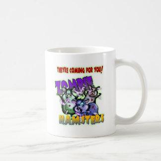 ZOMBIE HAMSTERS! CLASSIC WHITE COFFEE MUG