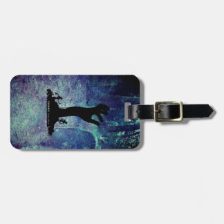Zombie Hand black Tag For Bags