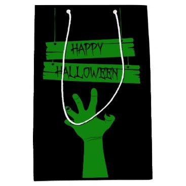Halloween Themed Zombie Hand Gift Bag