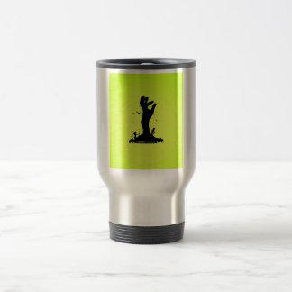 Zombie Hand Grave Travel Mug