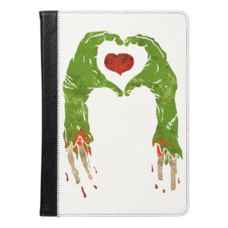 zombie hand making heart iPad air case