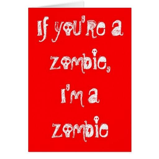Zombie happy anniversary card zazzle
