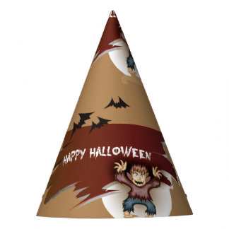 Zombie Happy Halloween Party Hat