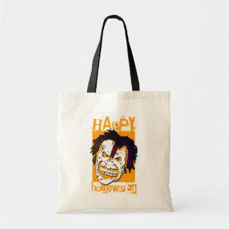 zombie happy halloween (trick or treat bag) tote bag