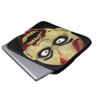 Zombie Head Computer Sleeves