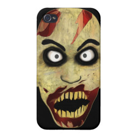 Zombie Head Covers For iPhone 4