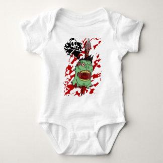 Zombie Head on a Pike Baby Bodysuit