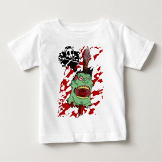 Zombie Head on a Pike Baby T-Shirt