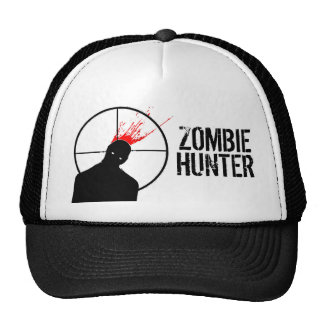 zombie head splat hat