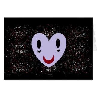 Zombie Heart Card